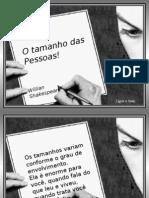 o Tamanho Das Pessoas