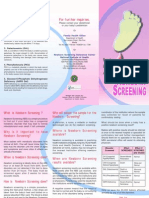 Newborn Screening Brochure
