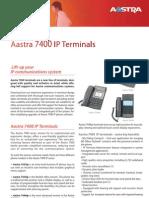 Aastra7400 IP Terminals