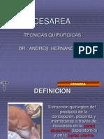 EXPOSICION D CESAREA