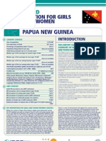 Hiv Prevention Girls and Young Women Papua New Guinea Report