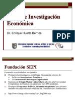Ideas de Investigación económicas