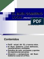 El Buen Gobierno Local