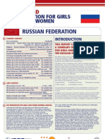 Hiv Prevention Girls and Young Women Russia Report Card
