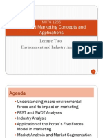 Emydocumentsadvancedmarketingconceptsandapplicationsjuly2010lecturenotes July 2010 PDF Files Lecture Notes Lecture Two Environment and Industry Analysis 100729032907 Phpapp02