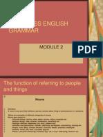 Modul 2 an 1 Businesss English Grammar