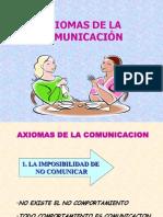 AXIOMAS DE LA COMUNICACIÓN210