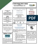 Newsletter 11-11-11