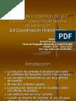 2.4 Coordinación Hidrotérmica