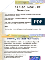 Iso9001 Iso14001 r2 Overview