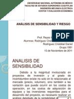 Analisis de Sensibilidad y Analisis de Riesgo