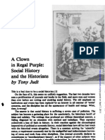 A Clown in Regal Purple - Tony Judt