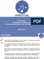 Up2Social-Benefices Des Blogs