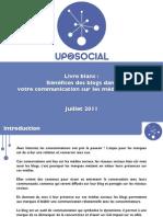Up2Social-Benefices Des Blogs