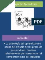 Psicología del Aprendizaje presentacion