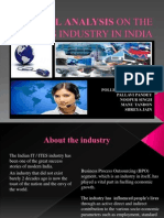 PESTEL Analysis of the ITES Industry in India