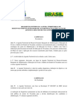 Regimento Interna Da at Aprovado Em 21