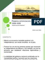 Primera intervención francesa 1838-1839