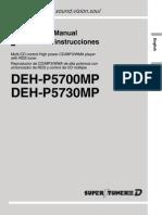 Deh-p5730mp Manual en Es