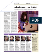 Jeunes Profil Achat Internet LeParis181111