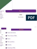 PDEs - Slides (1)