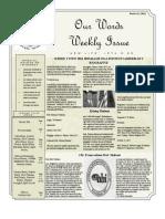 Newsletter Volume 3 Issue 47
