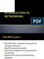 1-Intro to Networking
