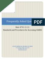 4731-11-11 FAQs