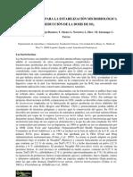Bacteriosinas Para La Estabilizacion Micro Biologic A y Reduccion de La Dosis de SO2