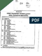 Gene Transfer Technologies