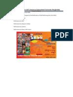 Baishakhi Mela Bangla1415- AIUB - Program Schedule (You Are Welcome) 080408