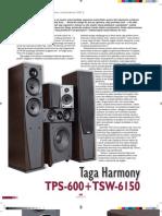 Taga Harmony TPS-600 + TSW-6150