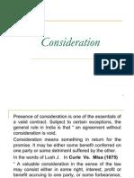 Consideration (2)