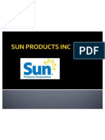 Sun Products Inc