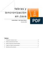 Tutorial Java - Hebras y Sincronizacion