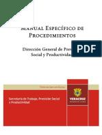 Manual de Procedimientos Prevision Social