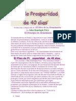 Plan de Prosper Id Ad de John Randoph Price