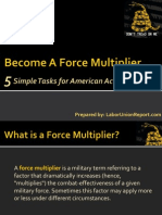 Become A Force Multiplier
