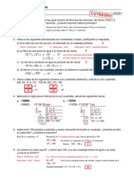 Refuerzo - Raíces - Ejercicios (II) Soluciones
