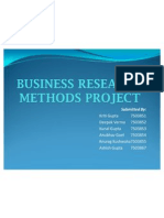 Business Research Methods Project