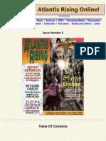 No05 71980638 Atlantis Rising Magazine No 05 Secret History