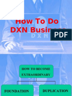 How to Do DXN Business