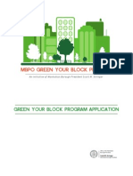 Green Your Block Tree Guard Application