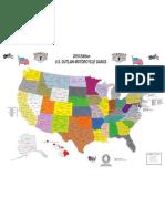 Outlaw Motorcycle Gangs Map Iia