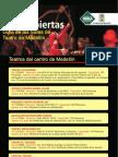 Guía de Salas deTeatro Medellín