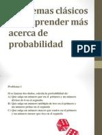 Problemas clásicos para aprender más acerca de probabilidad