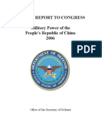 DoD Report China 2006