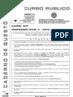 ART - Professor Nível 3 - Arte - V