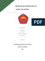 Laporan Praktikum Farmasetika IV 30 Okt