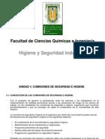 Higiene y Seguridad Industrial. Unidad V.